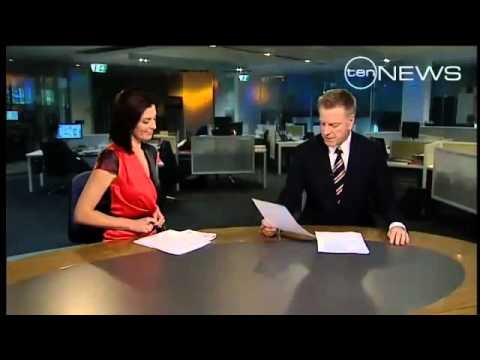 Australian broadcaster Belinda Heggen Mocks TV Co-Host