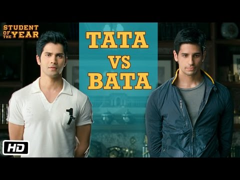 Tata vs Bata: The First Encounter - Student Of The Year | HQ