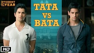 Tata vs Bata: The First Encounter - Student Of The Year - Varun Dhawan, Sidharth Malhotra