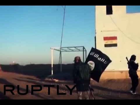 GRAPHIC: ISIS claims last border crossing between Iraq & Syria