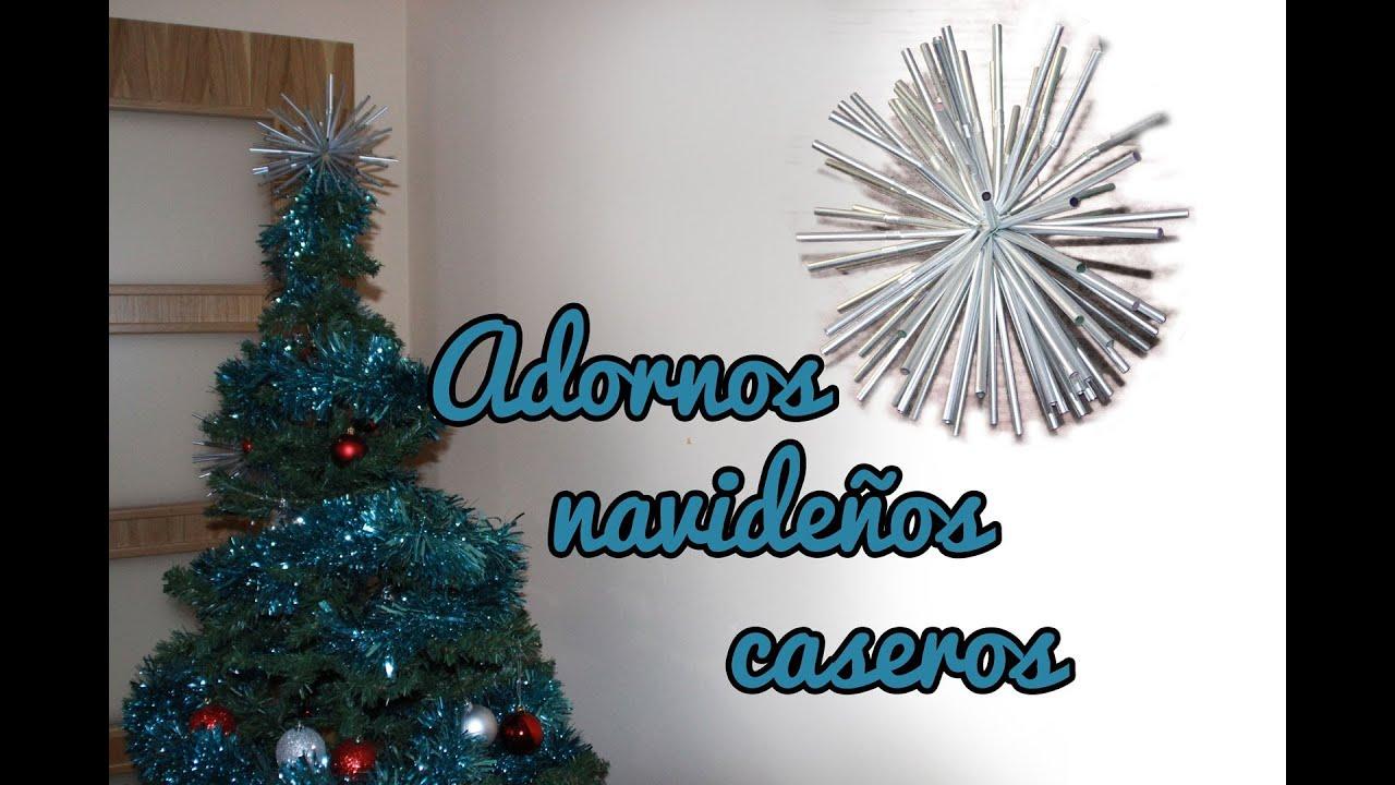 Adornos navide os caseros manualidades para navidad for Manualidades para adornos navidenos