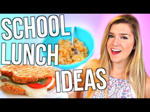 School Lunch Ideas You NEED To Try!