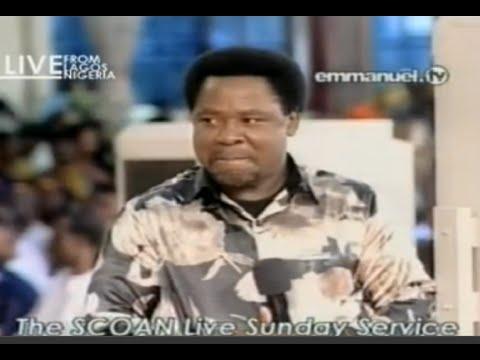 SCOAN 01/03/15: Sunday Live: TB Joshua Speaks & Prophesies. Emmanuel TV