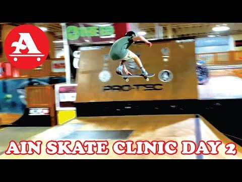 AIN SKATE CLINIC AT THE EDGE PART 2