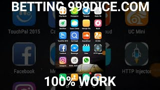 SHARE  TUTORIAL BETTING 999DICECOM ON ANDROID