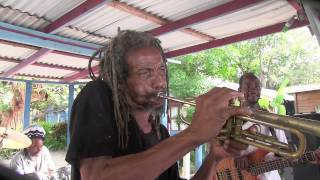 Frank Aird & Joe Isaacs of Studio One: 'Swing Easy', The Boat Bar, Negril, Jamaica 2014