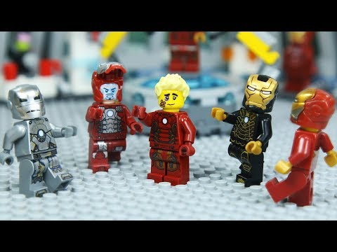 Download Lego IRON MAN's ARMOR was Stolen by Robber Mp4 baru