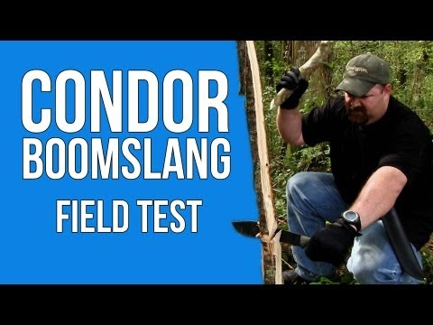 Condor Boomslang: Field Test w/the Cajun Blaze