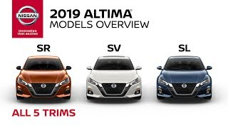 All 2019 Nissan Altima Models Explained