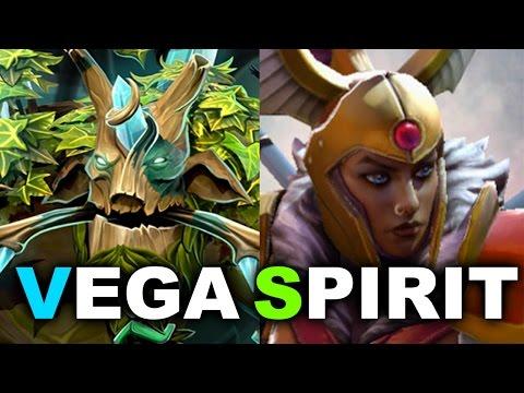 VEGA Vs SPIRIT - New Roster Debut! - DreamLeague 7 DOTA 2