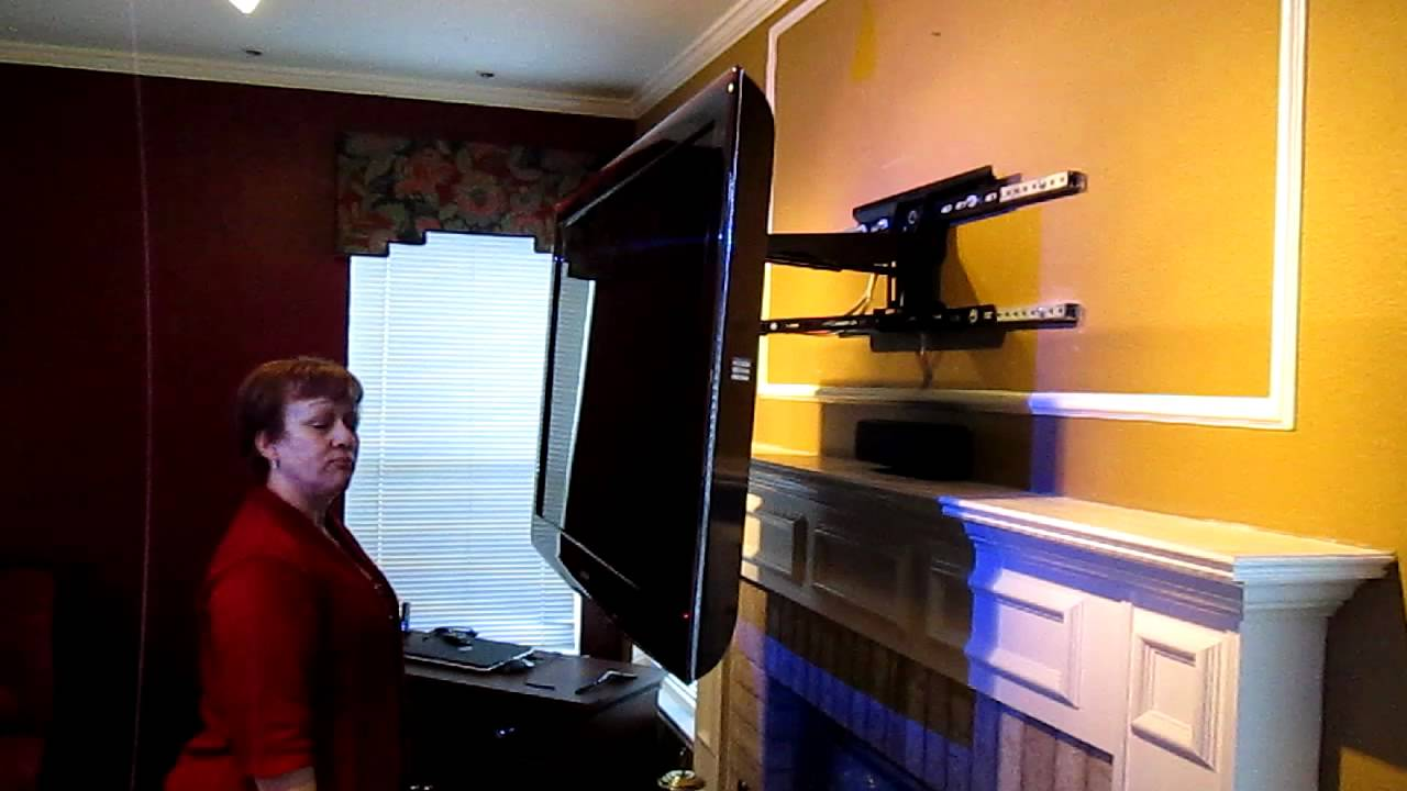 Fireplace Tv Mount Youtube