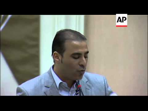 News conference with Libyan government spokesman