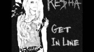 Watch Kesha Get In Line video