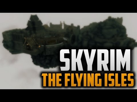 Skyrim - THE FLYING ISLES