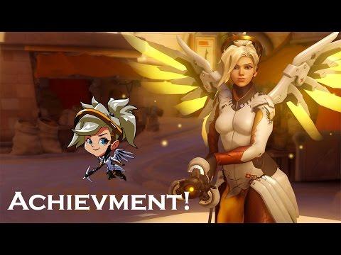 Overwatch achievments: Mercy!