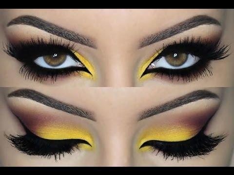 colorful smokey eye ♡ make up tutorial ♡  youtube