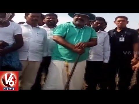 Speaker Madhusudhana Chary Pochampally Tour, Interacts With Upadi Haami Kooli's | V6 News