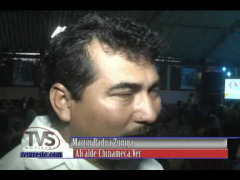 TVS Noticias.- 1er Informe de Labores Martín Padua Zúñiga, Chinameca, Veracruz