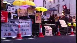 Biểu tình ủng hộ Hong Kong tại London