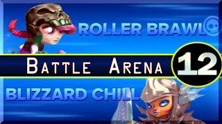 PS3 Skylanders Swap Force Roller Brawl Vs Blizzard Chill Battle Arena Gameplay Part 12 [HD]