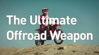 The Brand New Honda CRF450RX 2017 ... With Electric Start!