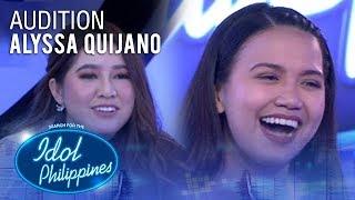 Alyssa Quijano - Araw-Gabi   Idol Philippines 2019 Auditions
