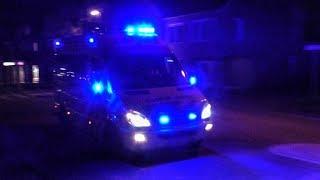 A1: Ambulance 20-143 is met spoed onderweg naar een spoedmelding [Archief]