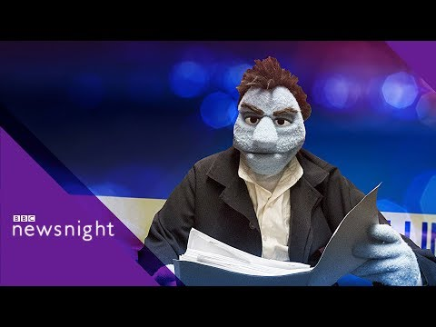 The Happytime Murders Director Brian Henson On His 'miscreants' - BBC Newsnight