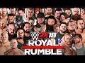 WWE 2K18 30-MAN ROYAL RUMBLE MATCH! (FULL MATCH WWE 2K18 GAMEPLAY)