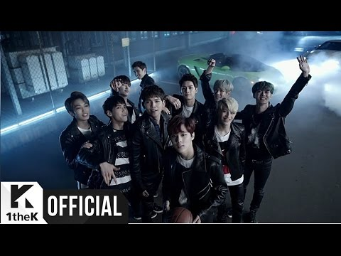 UP10TION Attention music videos 2016