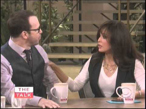 Donnie Wahlberg on The Talk pt1