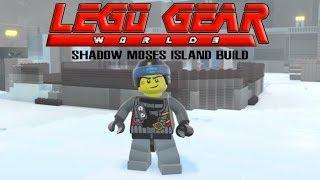 Lego Gear Shadow Moses Island Recreated in Lego Worlds (PART 1)