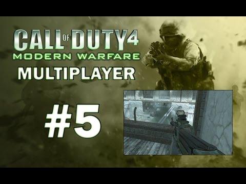 Call of Duty 4 Modern Warfare - Multiplayer Part 5 - P90 SHOWCASE