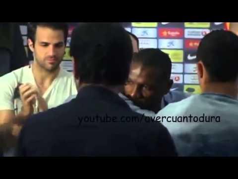 Eric Abidal goodbye Futbol Club Barcelona! Emotional press conference! 30.05.2013