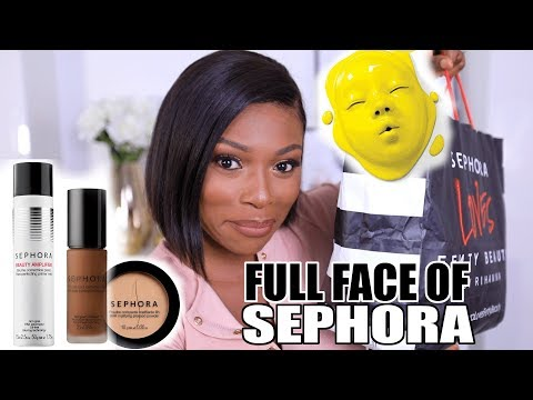FULL FACE OF SEPHORA !!! IS THIS WORTH IT