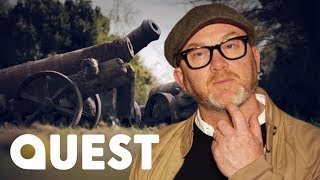 Salvage Hunters | Drew is Shocked to Find REAL 18th Century Cannons!