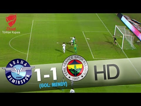 Adana Demirspor: 1 - Fenerbahçe: 1 | Gol: Theo Mendy