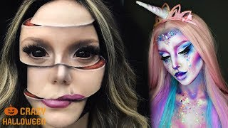 Top 10 AMAZING Halloween Makeup Tutorials 2018