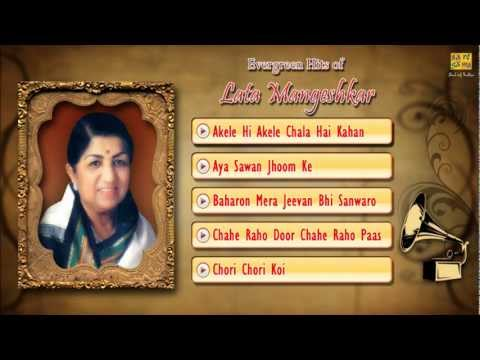 Superhits Songs Of Lata Mangeshkar - Jukebox- Full Songs