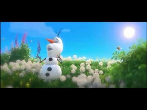 Frozen, Olaf cantando