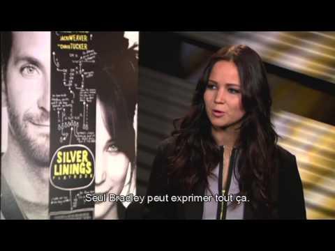 Happiness Therapy : Jennifer Lawrence parle de l'interprétation de Bradley Cooper streaming vf