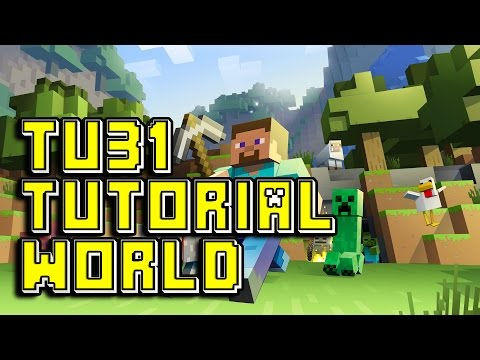 Minecraft TU31 Tutorial World Tour/Review