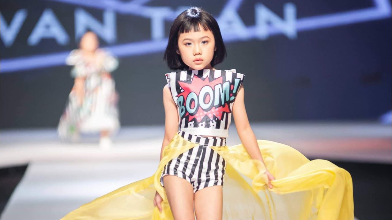 Lê Khánh An@ Asian Kids Fashion Week 2019
