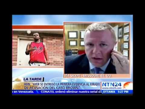 Abogado S Luis Missouri | Entrevista Jesus Prado NTN24 #Ferguson