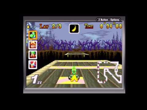 Mario Kart Super Circuit - 150cc Flower Cup (Game Boy Player Capture)