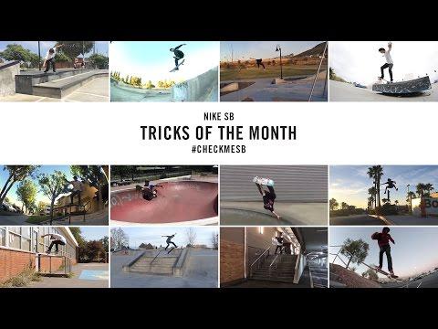 Nike SB | #CheckMeSB | Tricks of the Month: November