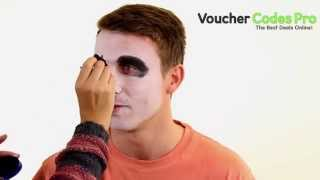 How to: Easy Skeleton Face Paint - Halloween Make Up
