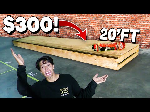 I Paid $300 For This MASSIVE Skate Ramp