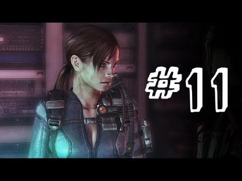 Resident Evil Revelations Gameplay Walkthrough Part 11 - Poltergeists - Campaign Episode 5