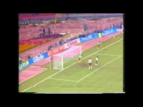 England v Cameroon World Cup QF 1990 (BBC Broadcast)